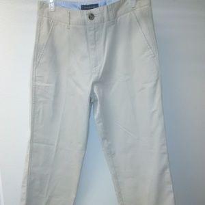 4/$20 Tommy Hilfiger boy pants size 20 color tan